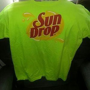 Tops - Sun drop unisex soda t-shirt